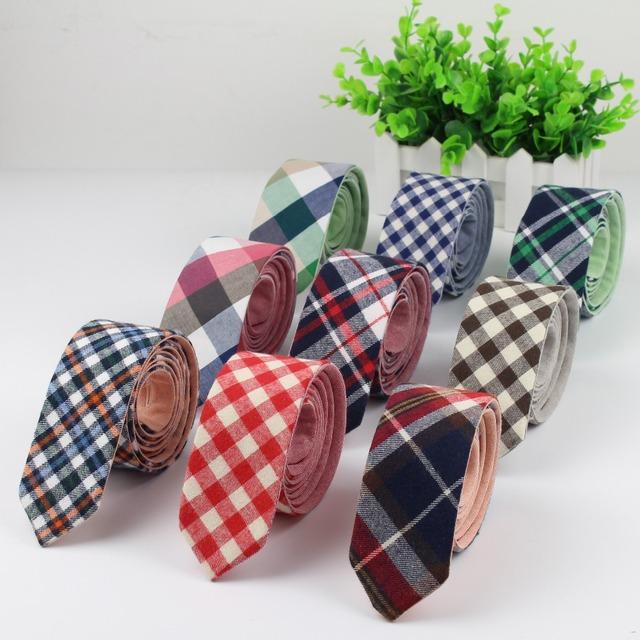 Двухуровневая мужская мода алмаза проверить искусственный вата полосатый узкие галстуки ...