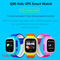 New Q90 GPS Phone Positioning Fashion Children Watch 1 22 Inch Color Touch Screen SOS Smart