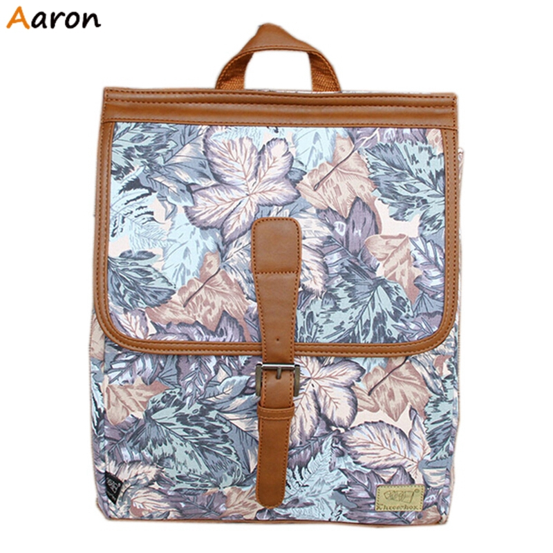 Aaron - Featured Floral Personality Men Students Backpack,Cool Japan Style Shoulder Packs For Teenagers,Unisex Fashion Mochila<br><br>Aliexpress