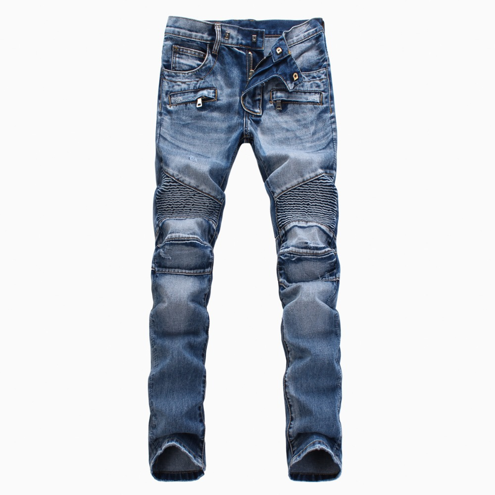 NWT BP Men's Fashion Runway Biker Slim Stratch Acid Washed Jeans Size 28-38 (#1378)(China (Mainland))