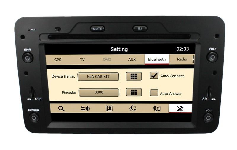 Factory Price! Car Stereo DVD Player for Alfa Romeo 159 /Spider /Brera /159 Sportwagon GPS Navigation with Radio DVD CD CANBUS(China (Mainland))