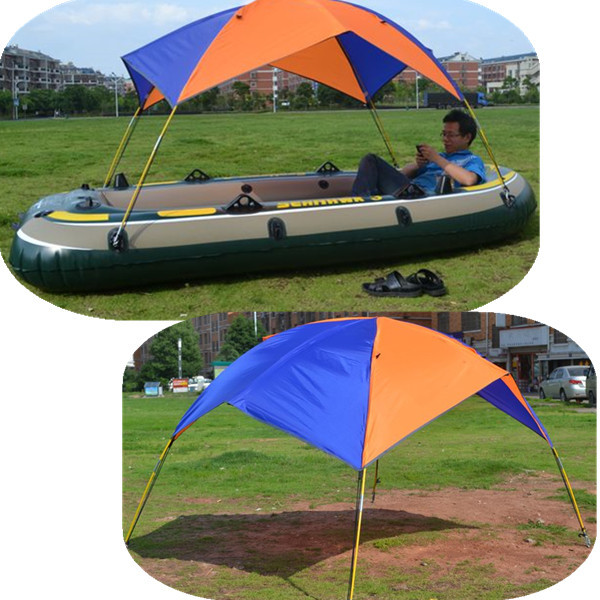 Inflatable boat tent 3-4 person Inflatable boats dedicated awning, boat fishing boat awning sun awning JH23-2(China (Mainland))