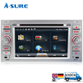A Sure 7 sat nav RDS DVD Player GPS for FORD TRANSIT C MAX S MAX