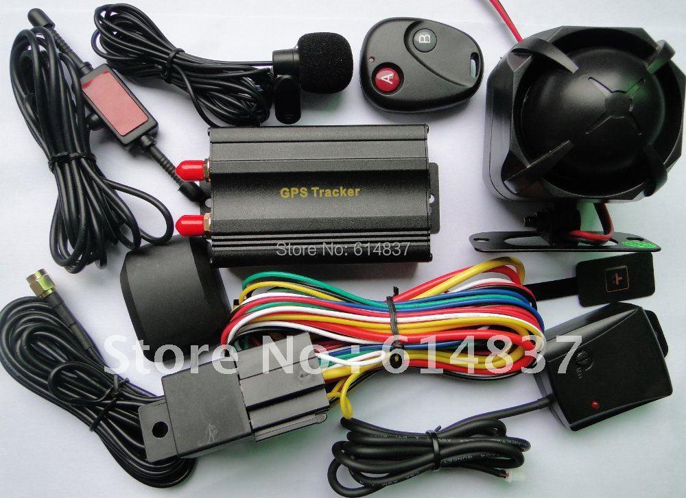 Germany Tracker car Alarm System Shock SENSOR 103b Vehicle/Car GPS tracker Cut Oil/Power Get Street address - Conor Tech store