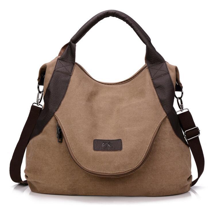 Fashion Canvas Lady Handbag Women Casual Tote Shoulder Bag Female Travel High Quality Messenger Bag Bolsas Femininas Sac a Main