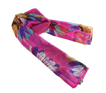 From India Scarves Free Print Shipping Wholesale 2015 New Products Hot Selling Chiffon Flower Long Soft Wrap Shawl For Women(China (Mainland))