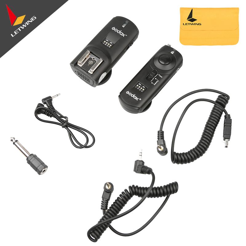 Godox Reemix RMI N3 3-in-1 Wireless Remote Control Flash Speedlite Trigger + Receiver for Nikon D90 D5000(China (Mainland))