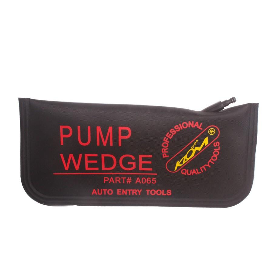 KLOM PUMP WEDGE LOCKSMITH TOOLS Auto Air Wedge Airbag Lock Pick Set Open Car Door Lock BlackL 1pcs/lot