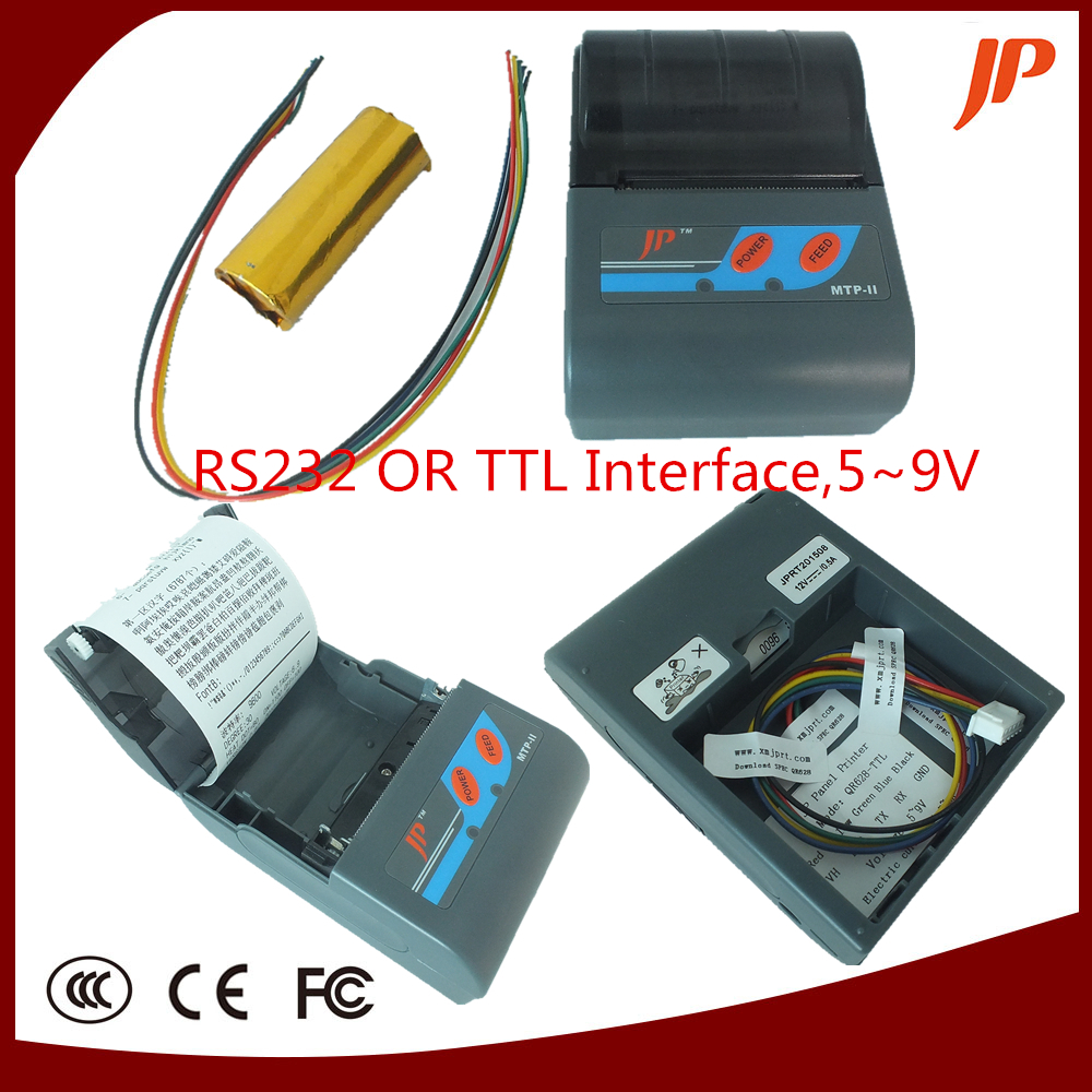 : Buy Free shipping Embedded thermal printer panel printer RS232 TTL