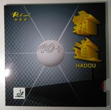 Original palio 40+ hadou table tennis rubber blue sponge palio rubber for table tennis racket ping pong paddles racquet sport(China (Mainland))