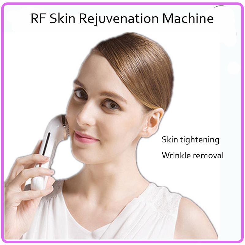 2 IN 1 Rechargeable Type Mini RF Radio Frequency + Infrared Skin Tightening Facial Beauty Massager Free Shipping<br><br>Aliexpress