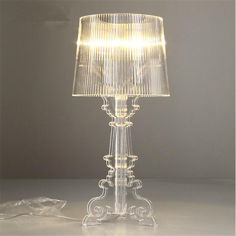 "Гаджет  Wonderland Modern ""Ghost Shadows"" Bedroom Bedside Table Lamps With Shade,LED Table Lamp E27,110V/220V,Reading Desk Lights Home None Свет и освещение"