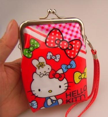 new lovely hello kitty coin Purse purses Clutch clutches bag bags mini handbag for women woman 2013