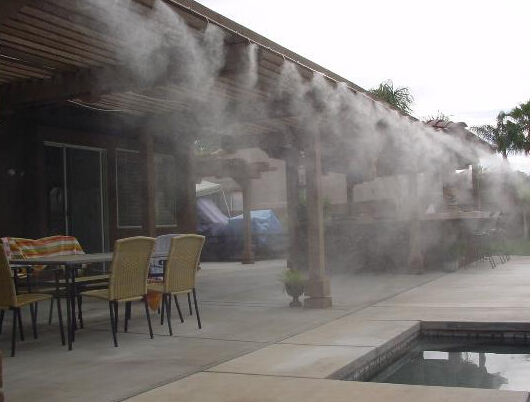 12L/MIN.High powered Fog machine. Fogger. Cooler for mist cooling system.(China (Mainland))