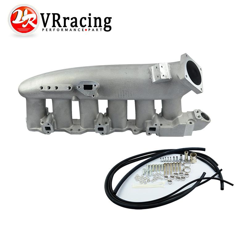 VR RACING-Cast Aluminum INTAKE MANIFOLD FOR Nissan 240SX RB25det RB25 Skyline R32 R33 R34 1989-1998 VR-IM32SL