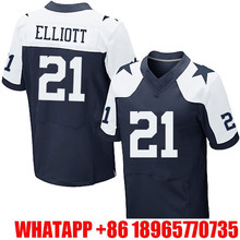 Mens #88 Dez Bryant #21 Ezekiel Elliott #82 Jason Witten #9 Tony Romo #22 Emmitt Smith 100% Stitched Logos Free shipping(China (Mainland))