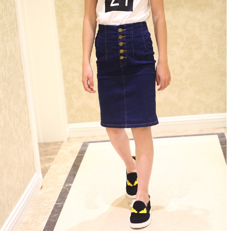 Popular Girls Denim Skirt Knee Length in Girls Skirts-Buy Cheap ...