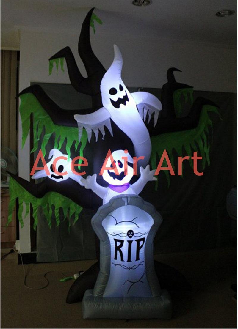 achetez en gros halloween pierre tombale en ligne des On dà coration gonflable halloween
