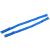 TFGS 10 x (Blue Elastic Fabric Metal Hook End Bra Straps Pair for Ladies
