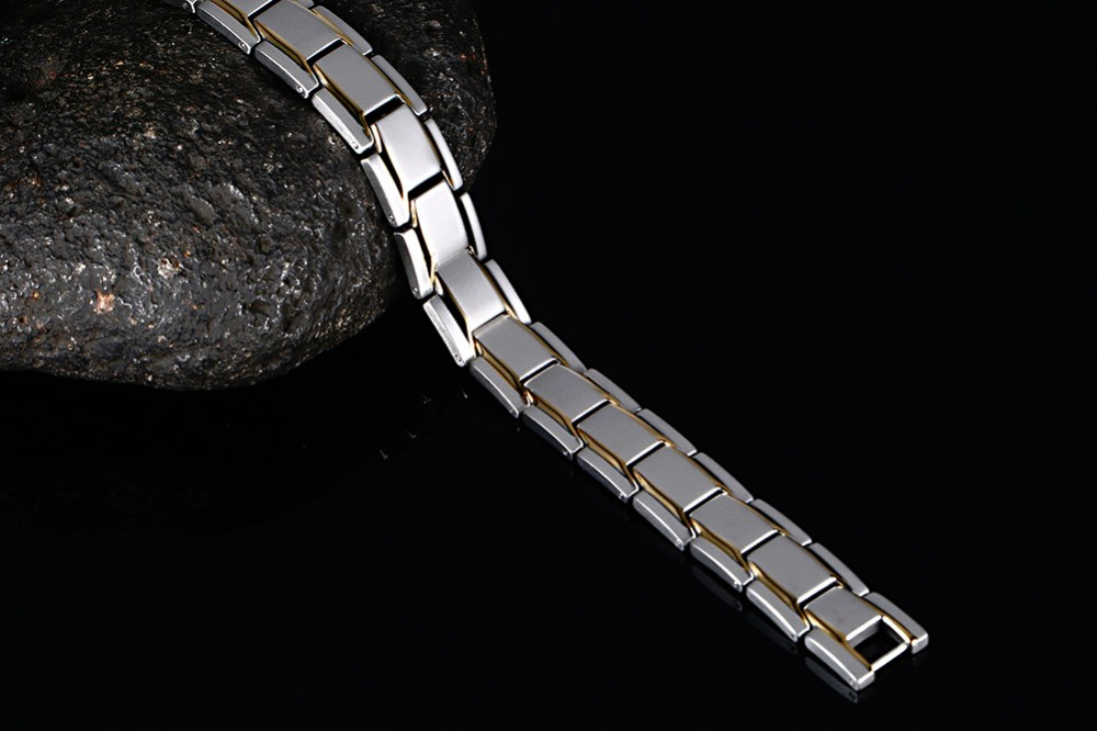 Mens magnetic bracelet 16