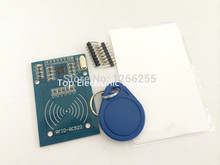 Buy 10set/lot MFRC-522 RC522 RFID RF / IC card sensor module /present S50 fudan card, key chain arduino for $18.90 in AliExpress store