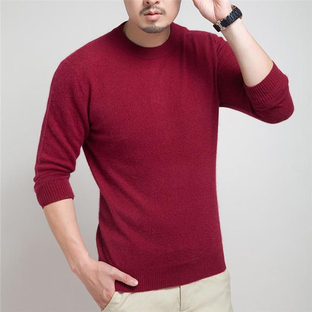 2015 горячая распродажа новинка свитер осень и зима пуловер мужчины о-образным вырезом ...
