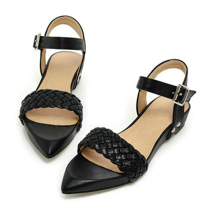 Popular Pedro Garcia Candela Low Heel Sandals In Black  Lyst
