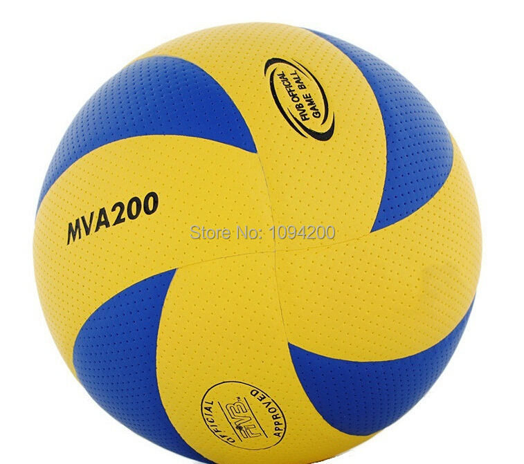 2015 New material Very soft Best quality size 5 volleyball official match MVA200 volleyballs for Match volleyball balls(China (Mainland))