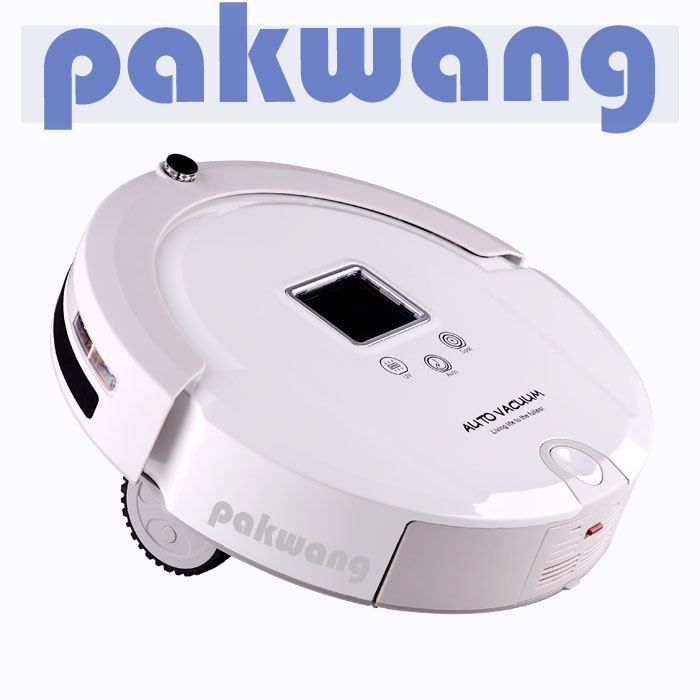 Robotic vacuum cleaner,Never tangel hair,Spot clean,Autocheck dust,robot(China (Mainland))