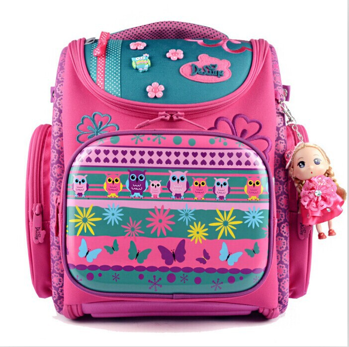 Cartoon Dogs Cute Bear School Bags Girls Orthopedic Backpacks Portfolio Mochila Escolar Kids Satchel - Fashion show Online Store 618587 store