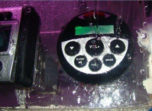 Marine waterproof bluetooth radio usb player marine audio player(China (Mainland))
