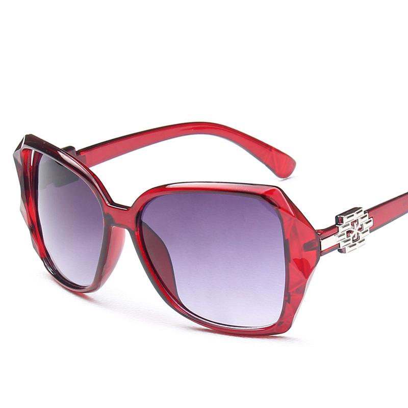 Large Frame Retro Glasses : AMISHI 2016 new fashion women sunglasses retro large frame ...