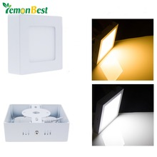 9W Square LED Surface Ceiling mounted Panel Lights SMD 2835 For Living kitchen Room illuminate(China (Mainland))