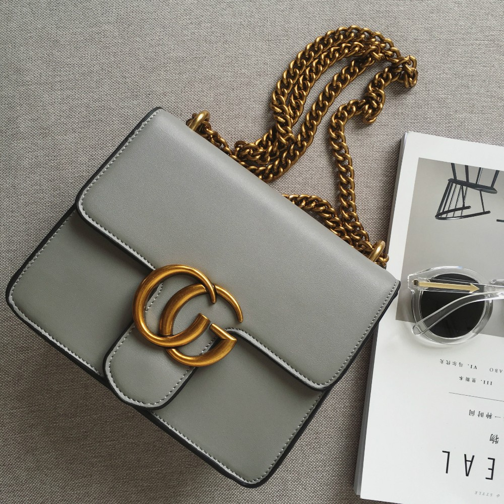 women leather winter bag  metal CHAIN lady cross body Gbag   shoulder   box bag with metal  brand luxury design