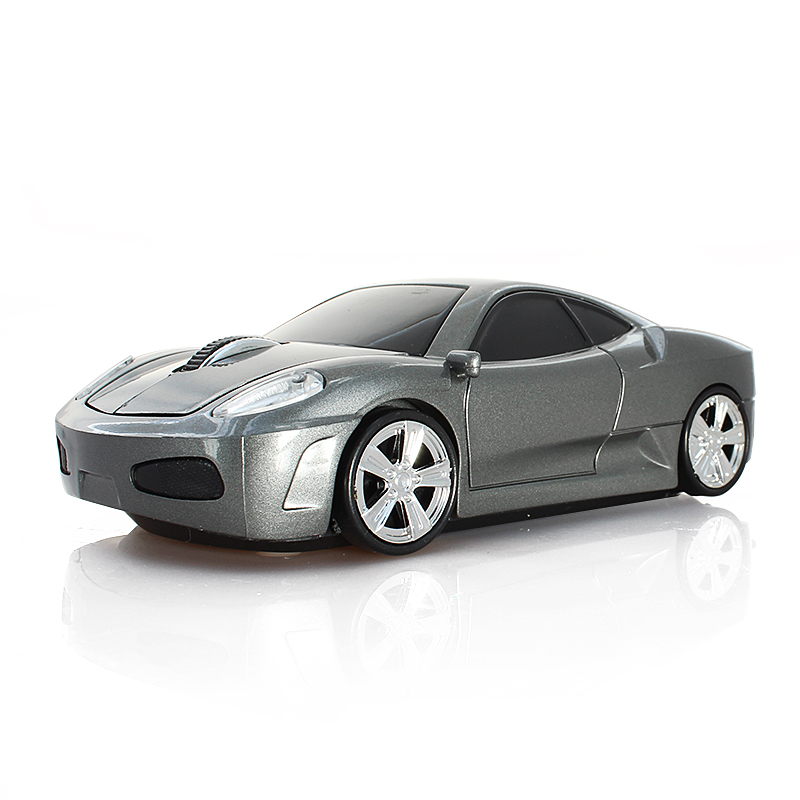 2016 New Fashion 3D Mini Sports Car Mouse Laptop PC Computer Mouse Car Wireless Mouse Fit for Business Gift Free Fast Shipping(China (Mainland))