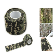 5cmx4.5m Army Camo Outdoor Sports Hunting Shooting Tool Camouflage Stealth Tape Waterproof Wrap Durable Hotsale
