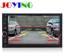 """7"""" 1024*600 In Dash Universal Double 2 Din Android 4.4.4 Car DVD GPS 3G Wifi Bluetooth OBD Radio Stereo CD Player automotivo"""