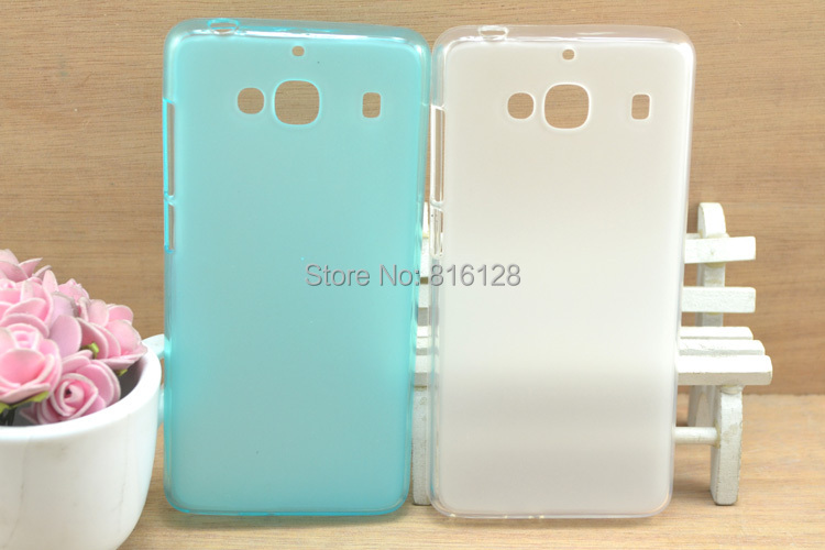 Xiaomi Red Rice 2 TPU Silicon Cover Phone Cases Soft Phone Protector Xiaomi Hongmi Redmi 2 Cellphone TPU Celular Protective(China (Mainland))