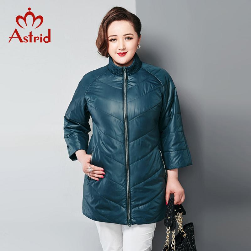 Astrid New 2016 High Quality Warm Women Winter Jacket green Coat Fashion Long Slim Wadded Parka Female AM-2520(China (Mainland))