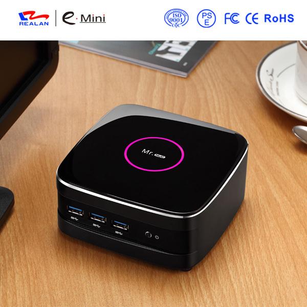 4GB DDR3 RAM+500G HDD Mini PC Thin Client Small Computer Haswell SOC Design Intel quad Core 4K HD HTPC TV Box(China (Mainland))