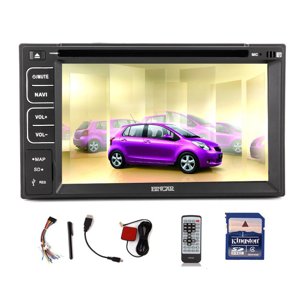 "6.2"" GPS Car DVD Navigation Built in Bluetooth 2 DIN Car Stereo Audio FM AM Radio In DASH DVD Video Player Ipod USB SD Car PC(China (Mainland))"