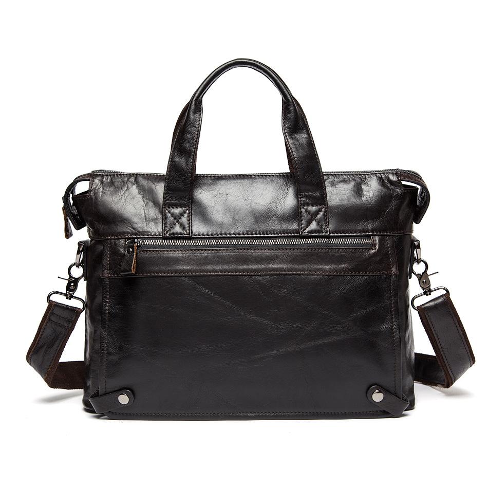 Mens handbags genuine leather man bag cross body Laptop Business briefcase cowhide men shoulder bag casual messenger bag<br><br>Aliexpress