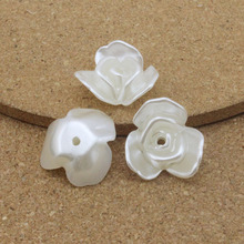 Buy 20pcs/lot 20*22mm ABS White Flower Simulated Pearl Beads Charms Jewelry Making Material DIY Crafts Sewing ON Pearl Flower F1568 for $1.31 in AliExpress store
