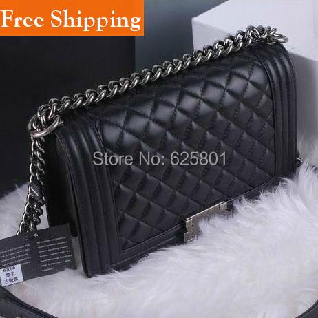 Famous Brand Designers Women Messenger Bags Quilted Flaps cc Bag Women's Leather handbag le boy chain Shoulder Bag bolsos sac(China (Mainland))