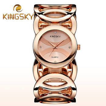 Brand Magic New Fashion Lady Gold Watches Women Dress Watch Full Stainless Steel Quartz Wristwatch Reloj Mujer Relogio Feminino