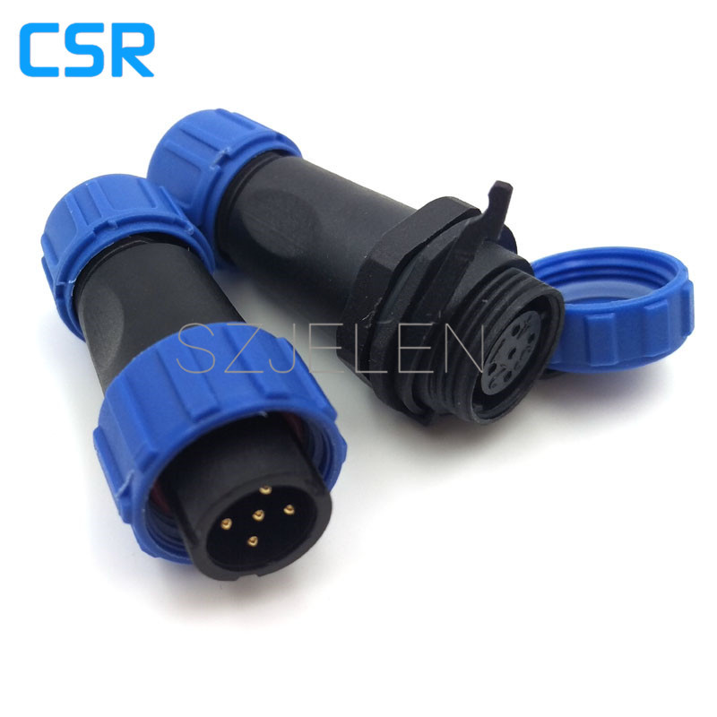 SP1310 , Waterproof 5 pin wire to wire connector, IP68,  microwave linker,car power connector,LED power cable cla Connectors