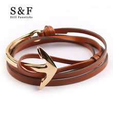 Buy Miansai Anchor Bracelet men jewelry Leather bracelets women charm bijoux Rope bracelete mens friendship bracciali homme 2017 for $1.30 in AliExpress store