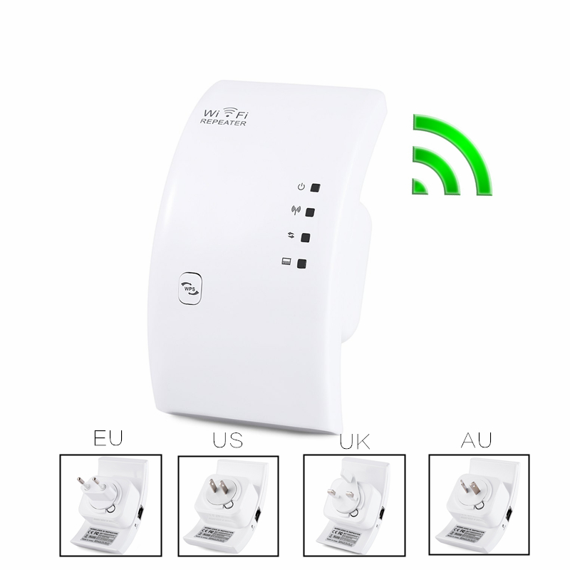 Home Wireless N Repeater Signal Booster 802.11 300Mbps AP Access Point Bridge WiFi Wi Fi Range Router roteador Extender Repeater(China (Mainland))