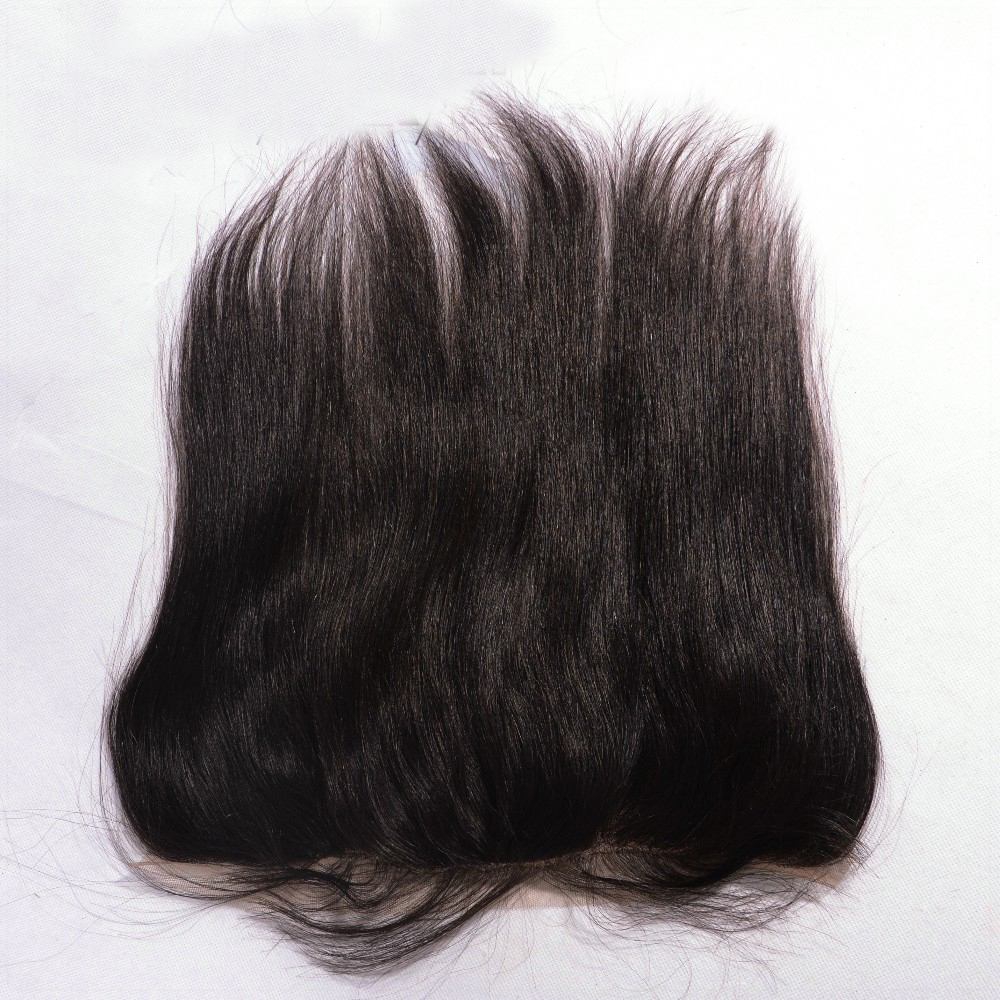 Фотография Best Quality Peruvian Virgin Hair Lace Frontal 13 x 4 With Free Shipping Ear To Ear Lace Frontal With Baby Hair