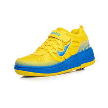 Free shipping Child heelys girls boys roller shoes 3Color for children rollerskate heelys wheel shoes kid